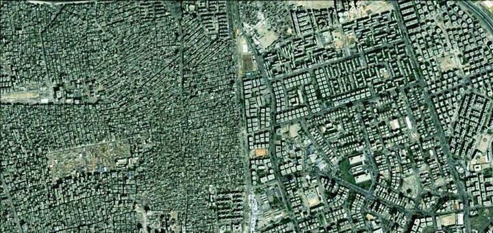 Diferencias entre ricos y pobres en El cairo